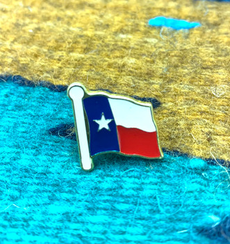 Texas Flag Hat Pin / Lapel Pin  (20txflgpin)