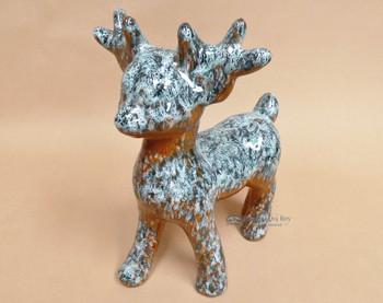 Hand Painted Standing Talavera Reindeer (33bc213)