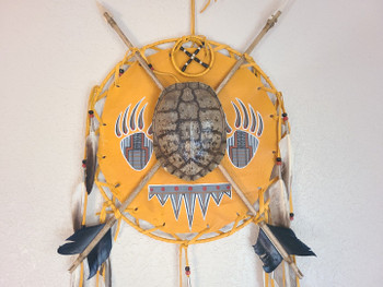 Navajo Arrow Peace Shield