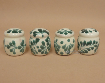 Hand Painted Mexican Salt Shakers