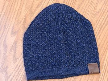 Knit Alpaca Beanie -Navy