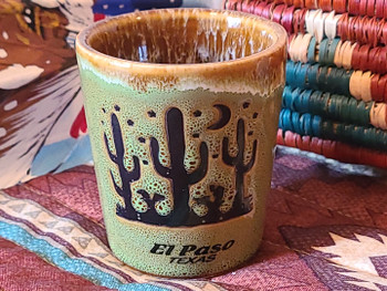 El Paso, TX souvenir Cactus Shot Glass