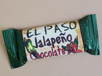 El Paso Jalapeno Chocolate Bar