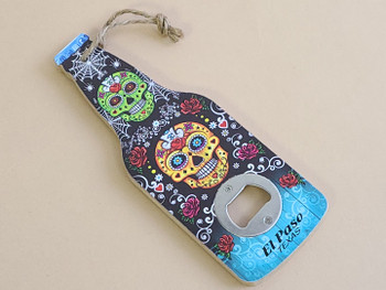 El Paso Day of the Dead Bottle Opener -Sugar Skull
