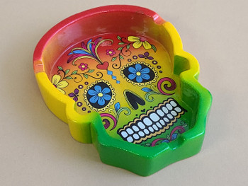 Day of the Dead Sugar Skull Ash Tray