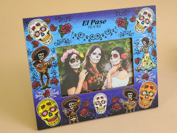 Day of the Dead Picture Frame for 4x6 picture