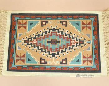 Native Inspired Digital Print Placemat - Navajo Tan