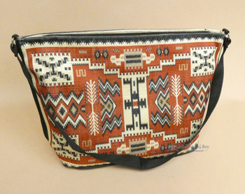 Native Inspired Digital Print Purse -Navajo Storm