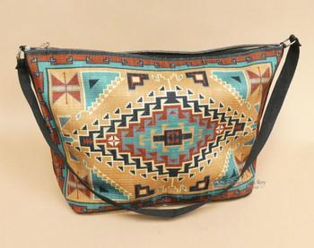 Native Inspired Digital Print Purse -Navajo Tan