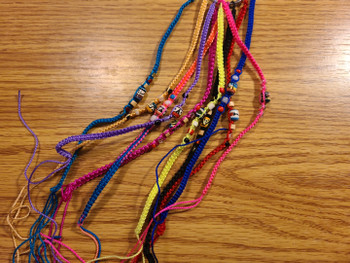 Assorted Beaded String Bracelets