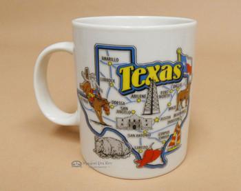 Texas Map -Coffee Mug
