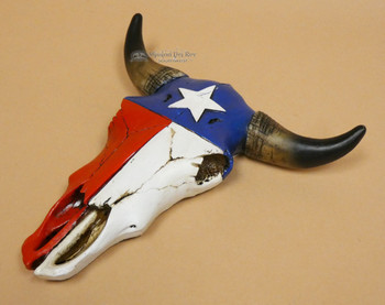 Decorative Wall Steer Skull - Texas