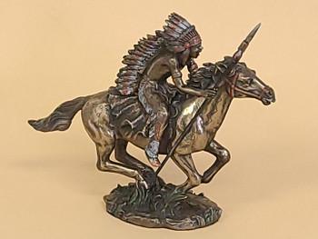 Bronze Rustic Southwestern Statue