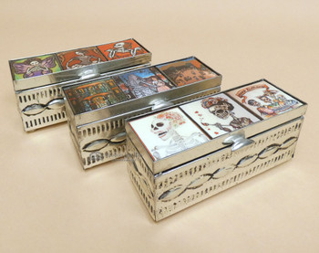 Assorted Handcrafted Tin Jewerly Boxes
