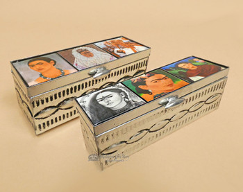 Assorted Handcrafted Tin Jewerly Boxes -Frida