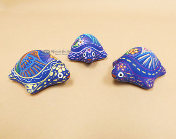 Assorted Hand Painted Matte Turtles