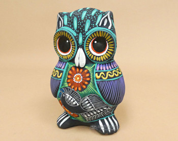 Assorted Hand Painted Matte Owls