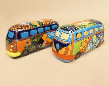 Assorted Hand Painted Ceramic Vans