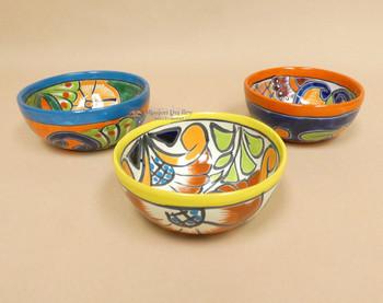 Hand Painted Mexican Talavera Cereal Bowls