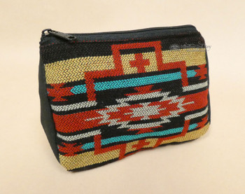 Woven Cosmetic Bag -Tan