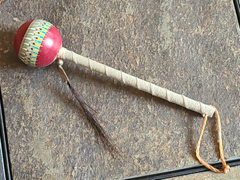 Navajo shaker ball rattle