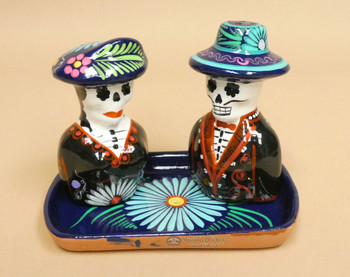 Day of the Dead Salt and Pepper Set