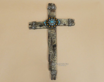Large Wooden Wall Cross