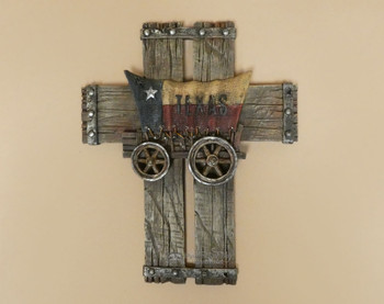 Texas Wagon Wall Cross