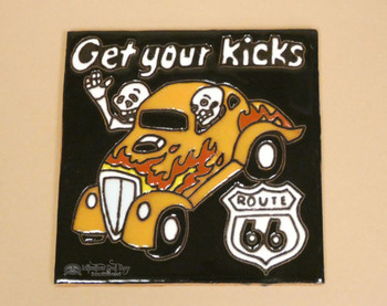 Day of the Dead Mexican Tile -Get Your Kicks
