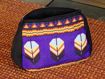 Southwestern Zippered Feather Bag