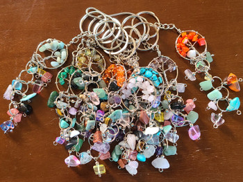 Assorted Tree of Life Key Chains