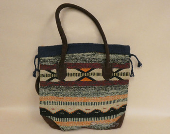 Southwestern Rug Tote Bag 17x17 (mont-b)