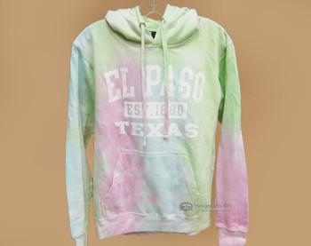 El Paso Tie Dye Hoodie -Pastel