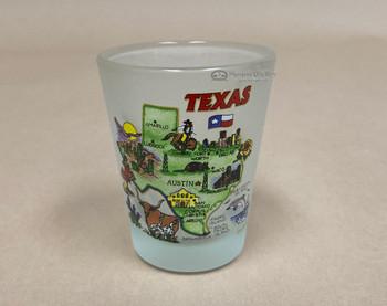 Assorted Texas Landmark Shot Glass