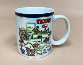 Texas Attractions Souvenir Mug 12oz