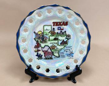 Porcelain Texas Collector Plate