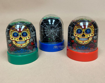 Assorted Day of the Dead Snow Globes