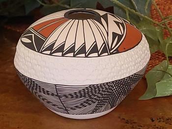 Acoma Pueblo Pottery -Seed Pot