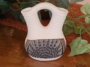 Native American Acoma Pueblo Wedding Vase
