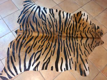 Hair on Hide Rug Bengal Tiger