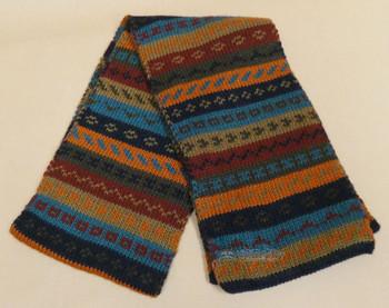 Andean Alpaca Wool Scarf