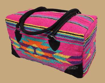 Bright Southwestern Cantina Weekender Rug Bag