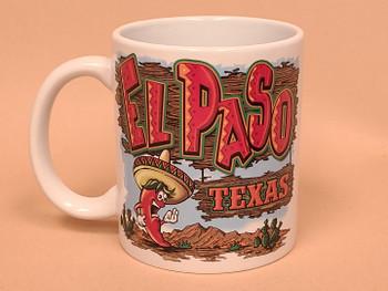 El Paso, Texas Mug -Festive Chili