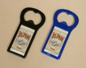Old West Bottle Opener Magnet -El Paso