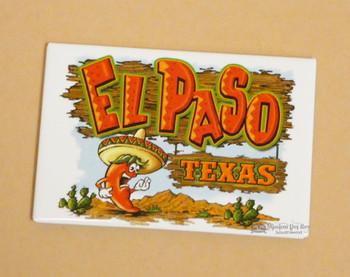 El Paso Festive Chili Magnet
