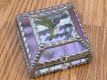 Stained Glass Jewelry Box