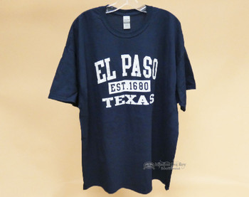 Premium El Paso T Shirt -Navy