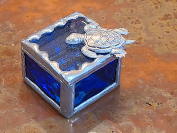 Stained Glass Fairy Ring Box