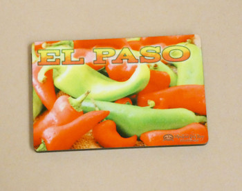 El Paso Chili Peppers Magnet