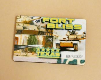 Fort Bliss Souvenir Magnet